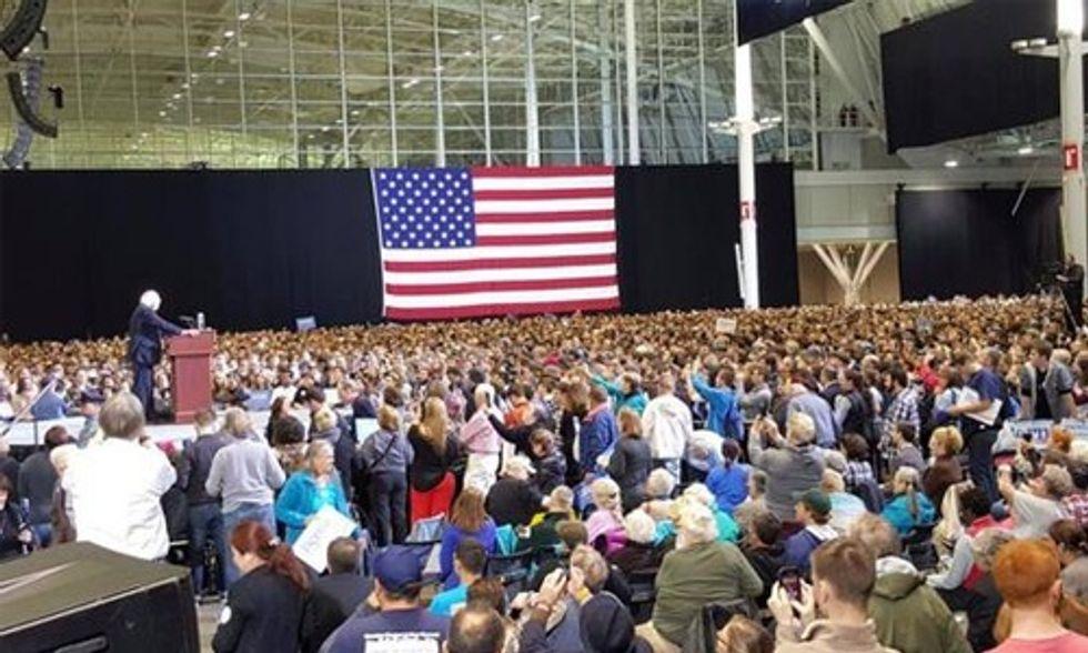 Bernie Sanders Goes Big in Boston Calling for a 'Political Revolution'