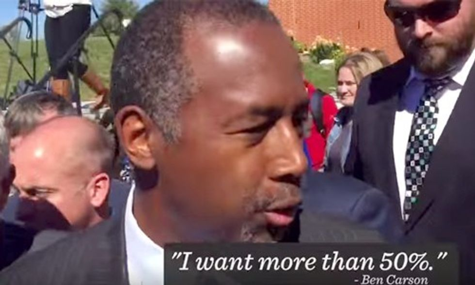 Even Climate Denier Ben Carson Says We Should Power America With Renewables