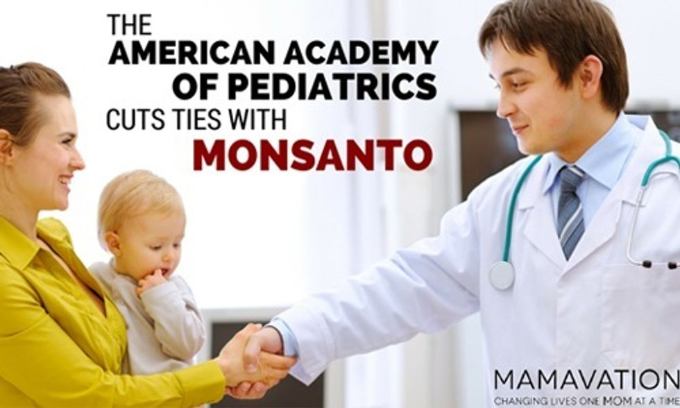 Confirmed: American Academy of Pediatrics Cuts Ties With Monsanto