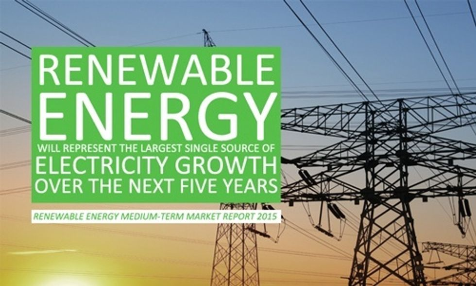 26% of the World Will Run on Renewables by 2020, Says IEA