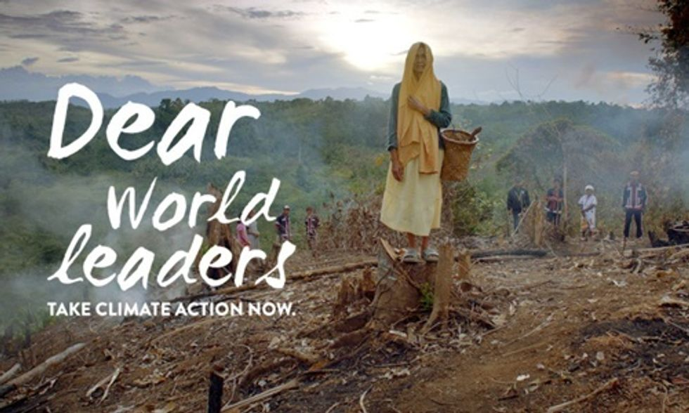 Dear World Leaders, Take Climate Action Now