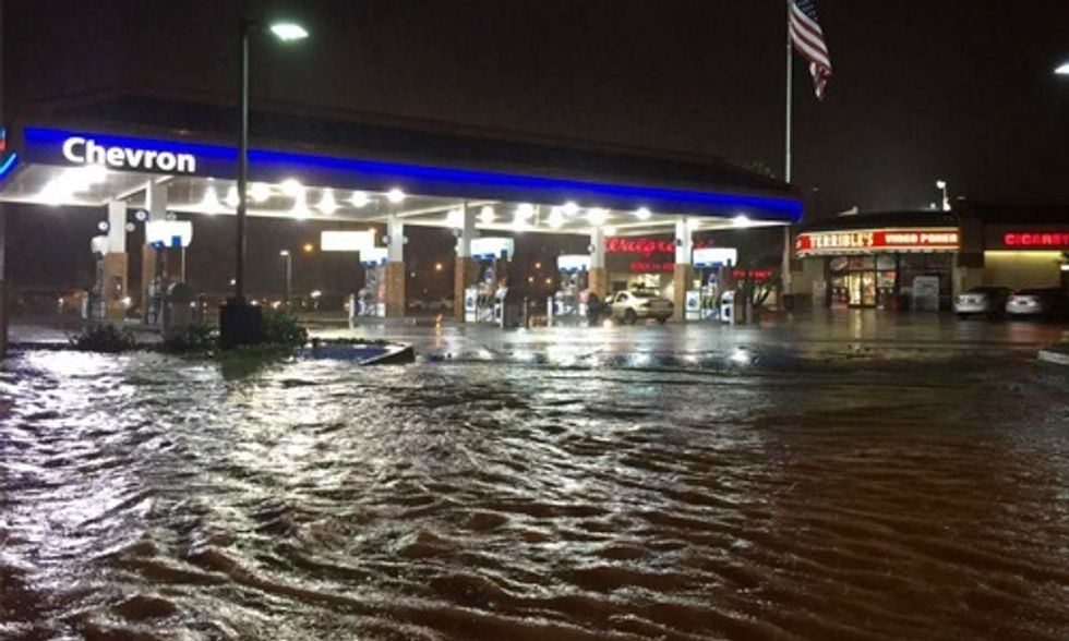 Record Rainfall Hits Vegas, 15 Dead in South Carolina's Historic Flooding