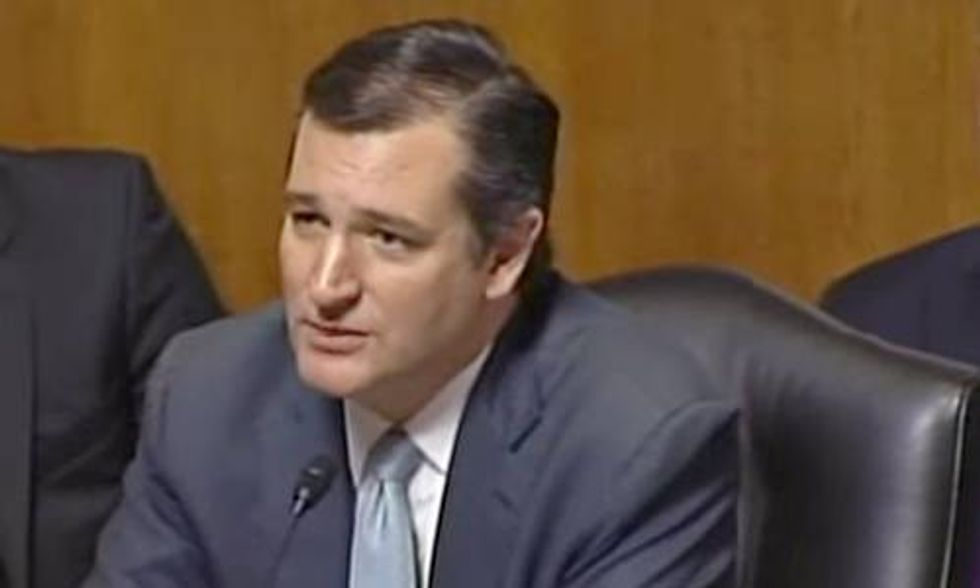 Watch Climate Denier Ted Cruz Bully Sierra Club President in Senate Hearing
