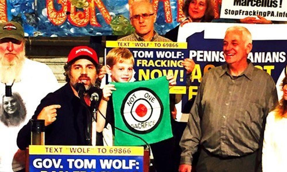 Mark Ruffalo Urges Pennsylvania Governor to Enact Immediate Fracking Moratorium