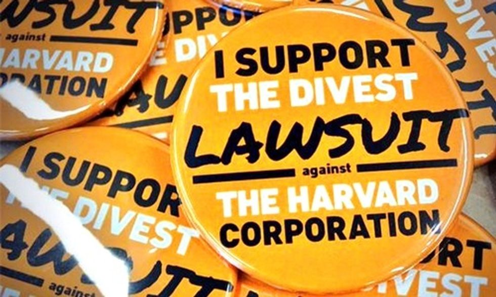 Harvard Students Appeal Fossil Fuel Divestment Case