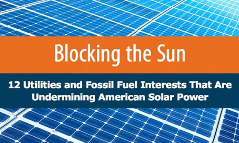 Koch Brothers + 11 Other Special Interest Groups Wage War on Solar