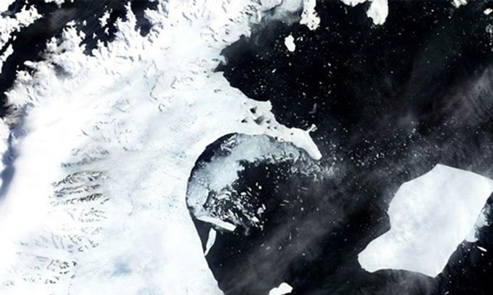 Melting of Antarctic Ice Shelves Could Double by 2050, Dramatically Increasing Sea Level Rise