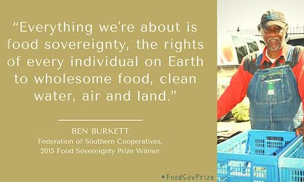 Grassroots Struggle for Food Sovereignty and Liberation of Black Cultures