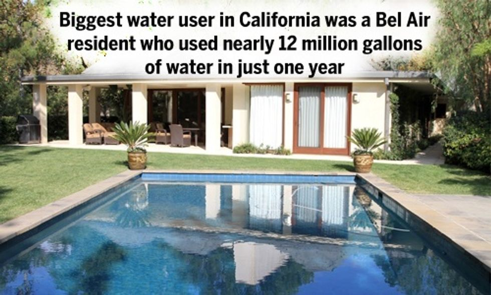 Drought Shaming the Rich and Famous: Who Is California's Biggest Water Guzzler?