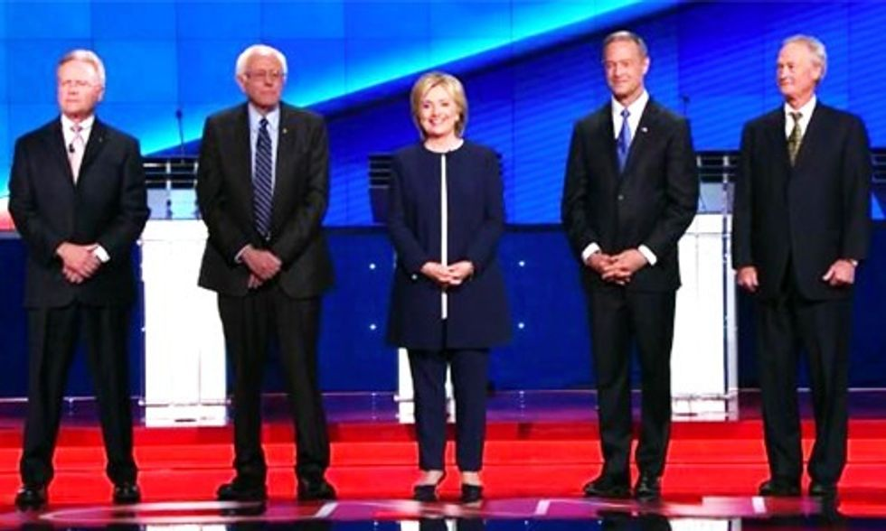 8 Misleading Claims in the #DemDebate