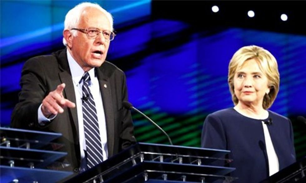 Bernie Puts Corporate Greed Center Stage, Hillary Holds Her Own at #DemDebate