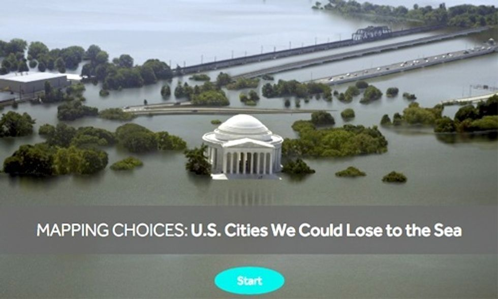Interactive Map Shows 414 U.S. Cities Already Locked Into Catastrophic Sea Level Rise