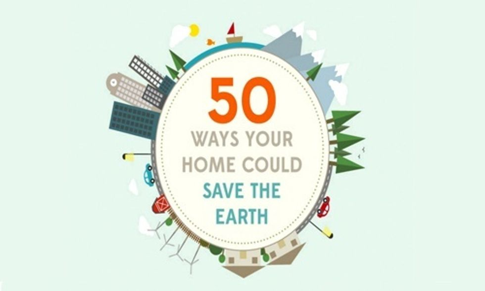 50 Ways You Can Help Save the Earth