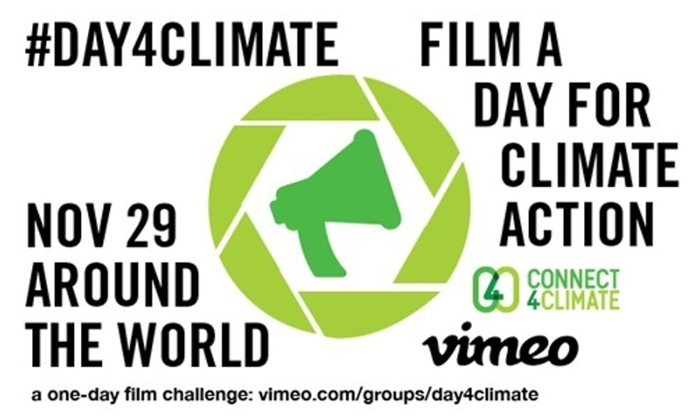 Film a Day of Climate Action Nov. 29