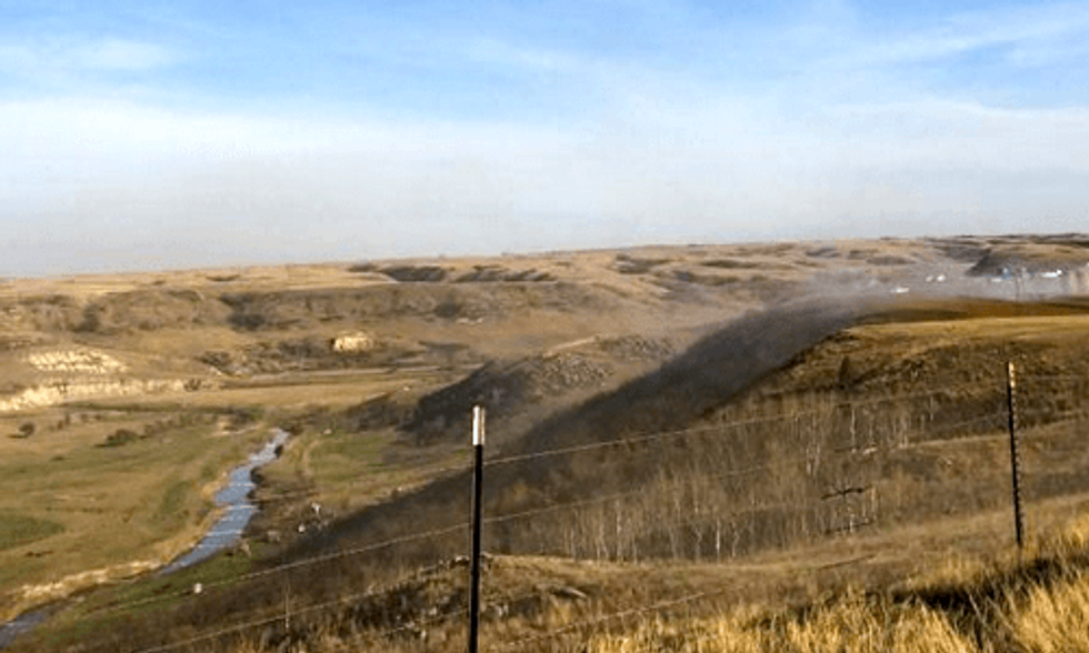 North Dakota Oil Well Still Spilling 'Out of Control'
