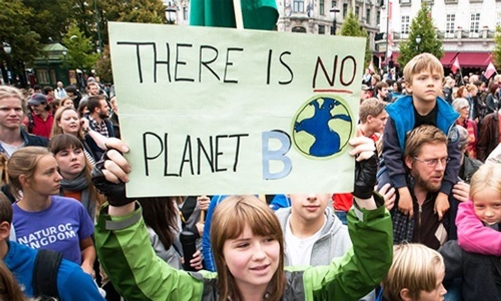 'Kick Big Polluters Out' of COP21