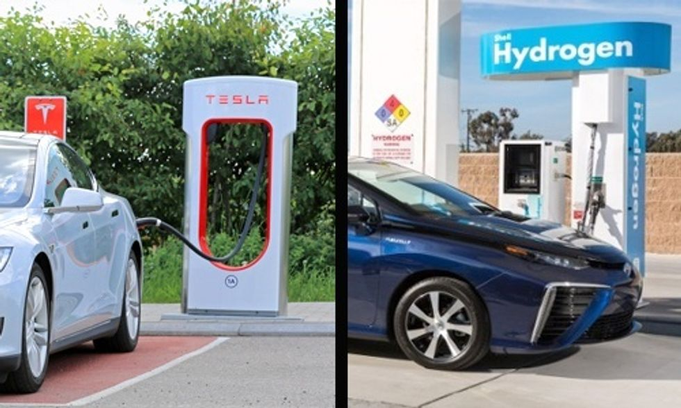 Hydrogen Fuel Cell vs. Electric Cars: Which Will Drive Us Into the Future?