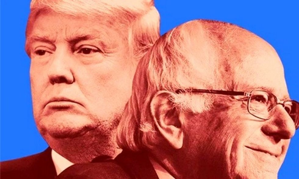 Why Donald Trump and Bernie Sanders Are Rock Stars Among the Working Class