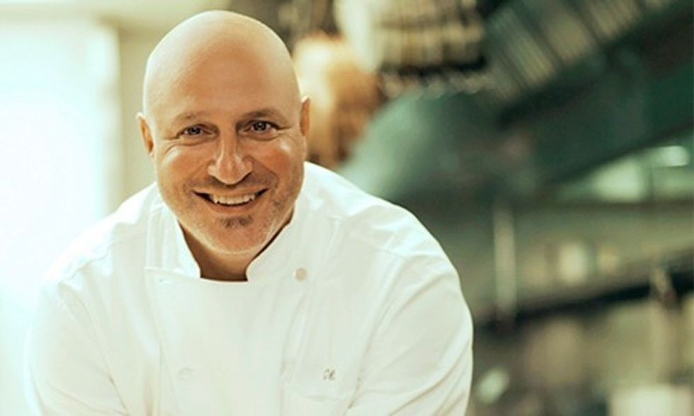 Exclusive Interview: Top Chef's Tom Colicchio Shares Importance of Eating Sustainable Fish