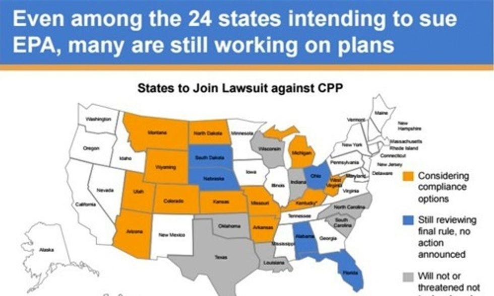24 States Sue Obama Over Clean Power Plan