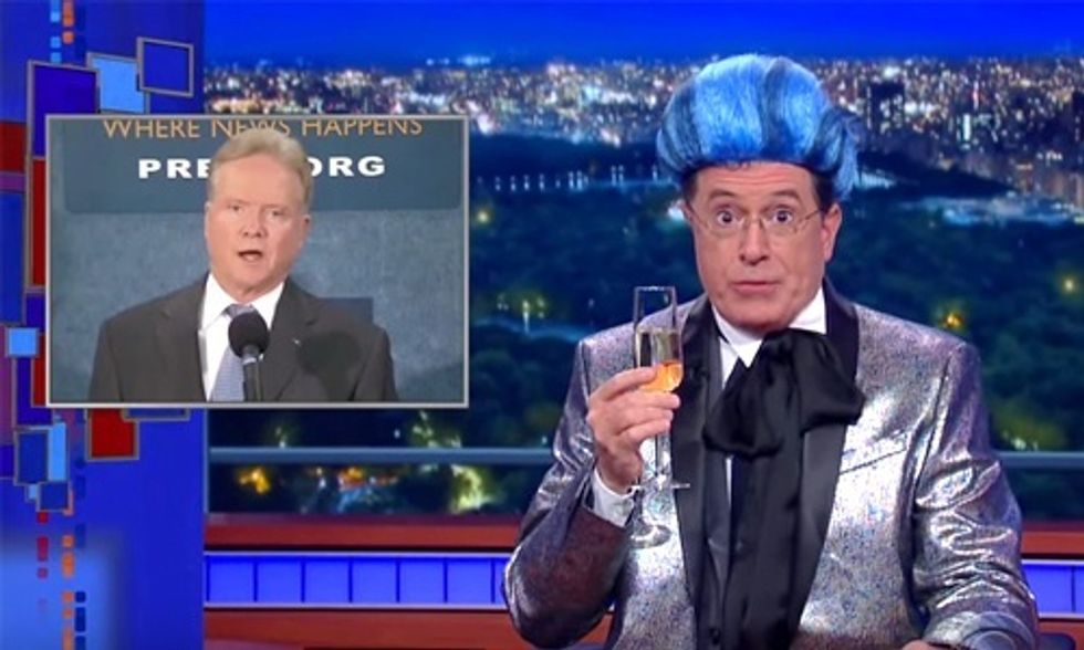 Stephen Colbert Compares 2016 Election to the Hunger Games