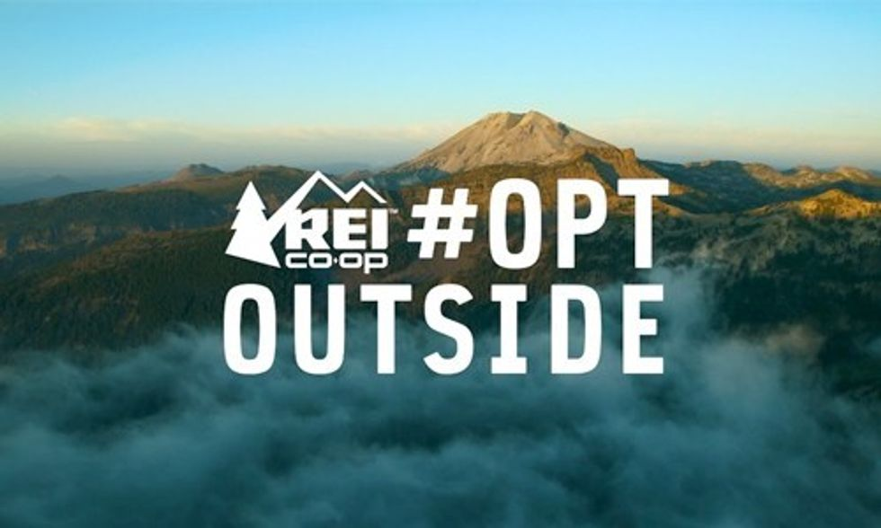 REI to Boycott Black Friday, Encourage Americans to #OptOutside