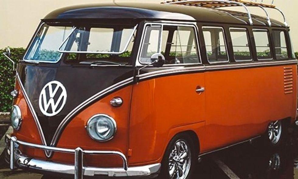 Volkswagen to Release Electric Version of Its Iconic Hippie Van