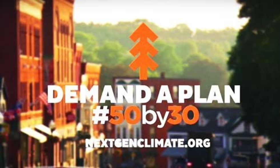 GOP Urged to Talk Climate at Tonight's Debate
