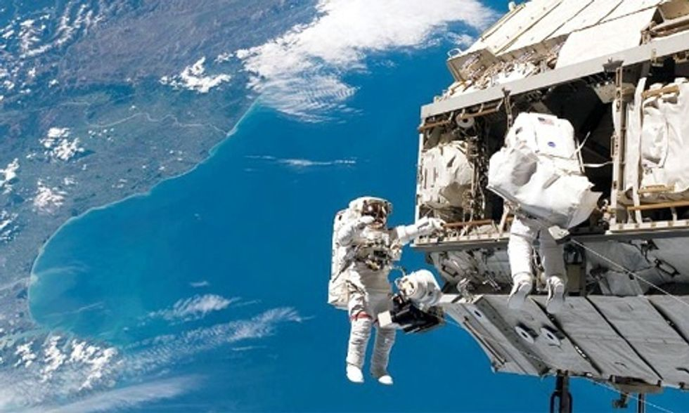 Watch Live: NASA Crew's First Ever Spacewalk
