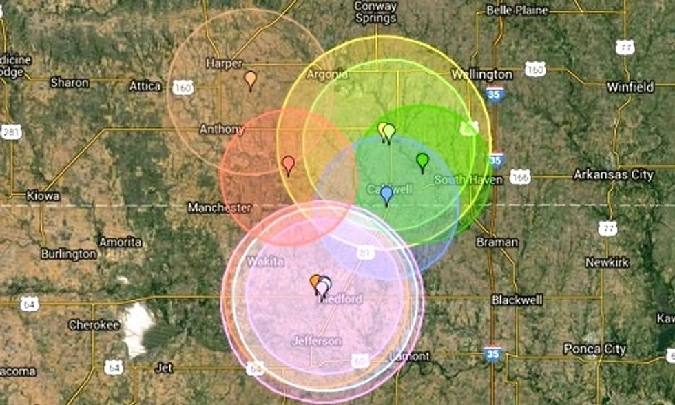 Alarming Uptick of Earthquakes in Kansas Linked to Fracking With 52 in Just Last Two Weeks