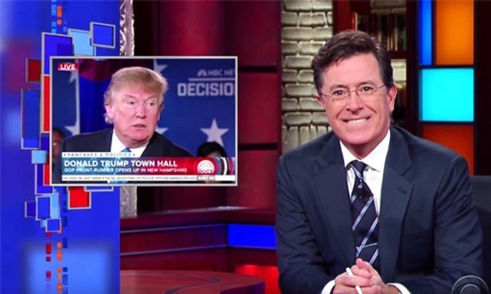 Colbert Rips Into Trump for 'Small Loan of a Million Dollars' Comment