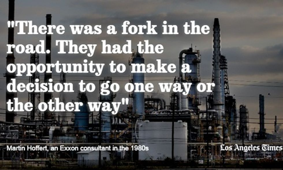 Hillary Clinton Calls for Federal Investigation of Exxon