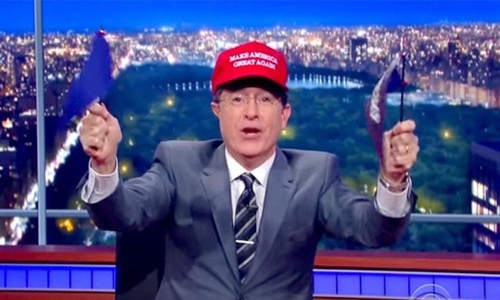 Stephen Colbert's Hilarious Takedown of the GOP Debate