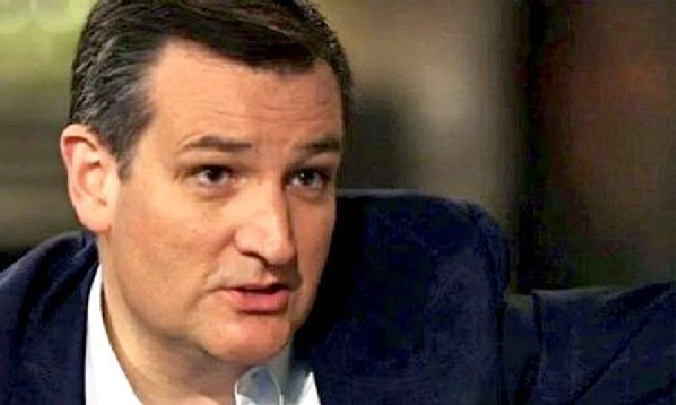 Watch This Alarming Video of Ted Cruz Attacking Climate Change as a Religion