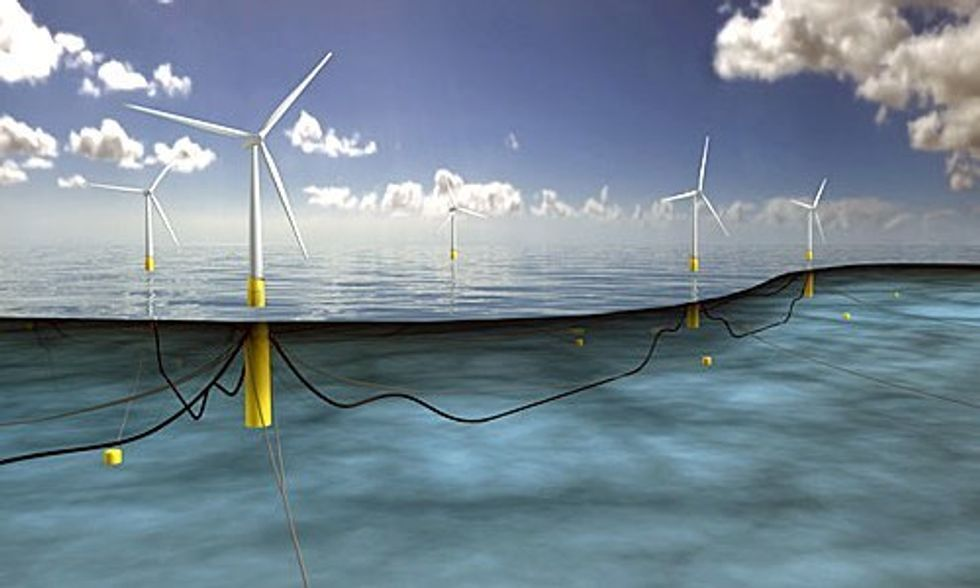 World's Largest Floating Wind Farm Gets Green Light