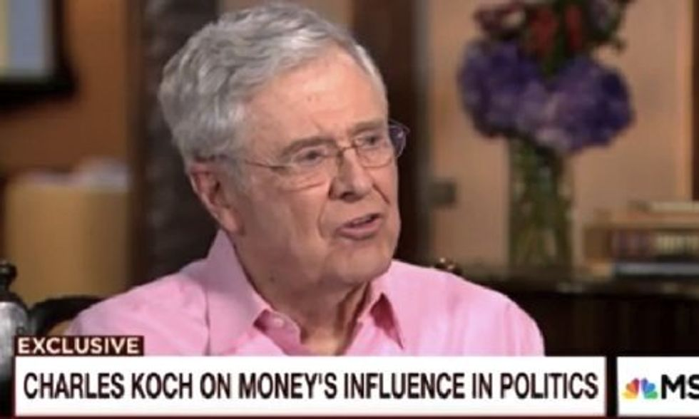 Koch Brothers: We're 'Failures' at Buying Influence
