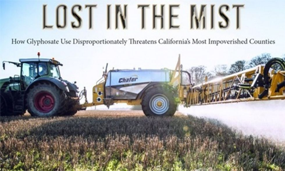 Monsanto's 'Cancer-Causing' Glyphosate Endangers California's Hispanic and Latino Communities