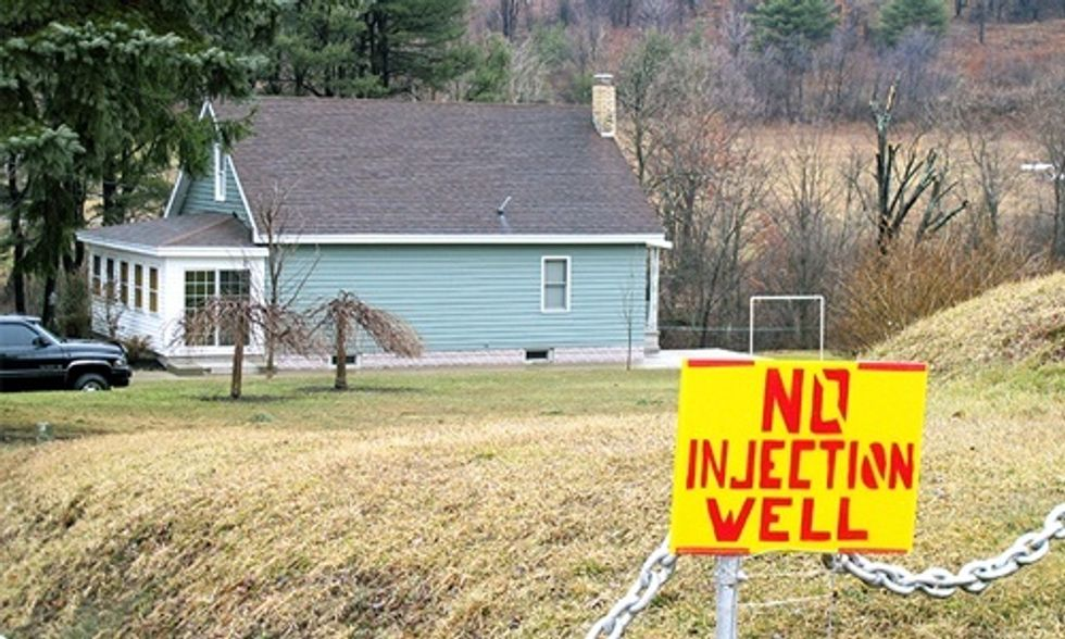 Pennsylvania Township Passes Bill of Rights Banning Fracking Wastewater Injection Wells