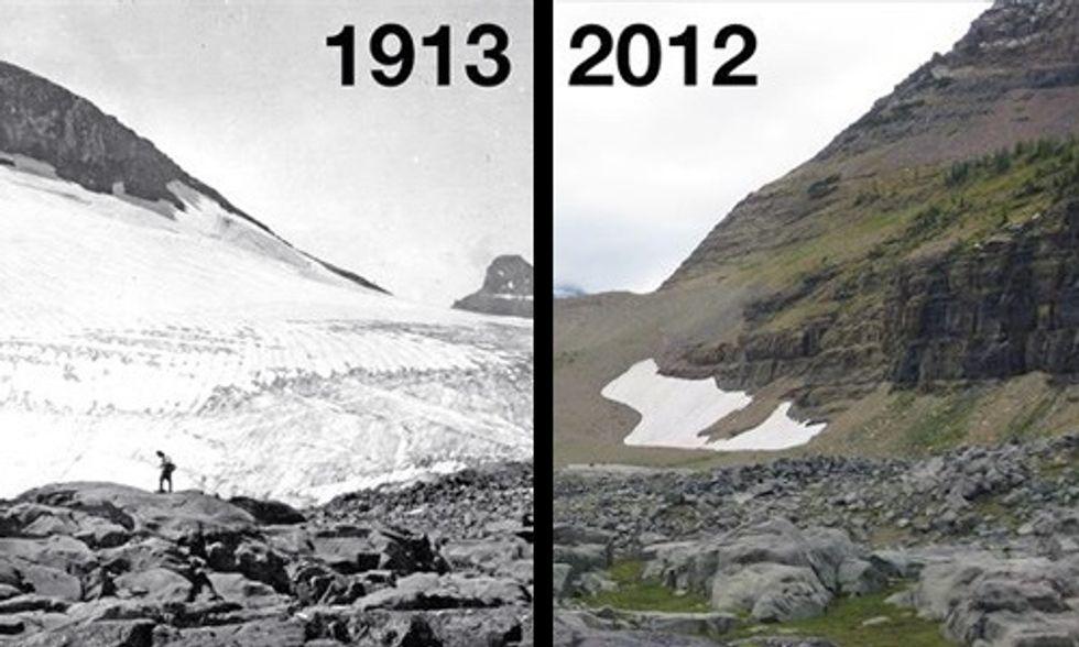 Сравнение фотографий разных эпох в