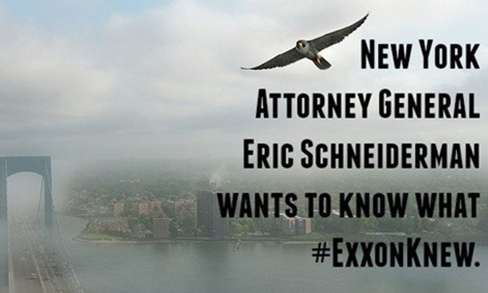 Exxon's Climate 'Scandal' Escalates As NY Attorney General Issues Subpoena