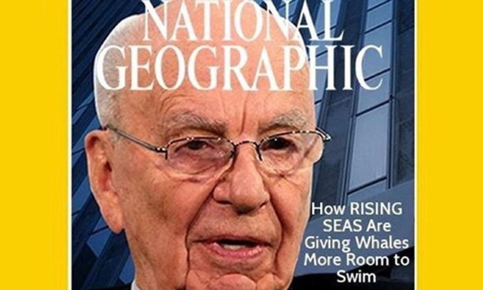 Will Rupert Murdoch 'Dumb Down the Science' at National Geographic?