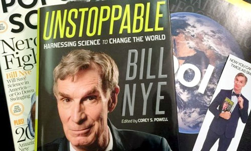 Bill Nye Is 'Unstoppable'