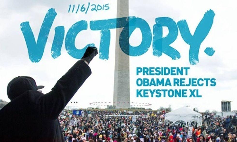 Breaking: President Obama Rejects Keystone XL Pipeline