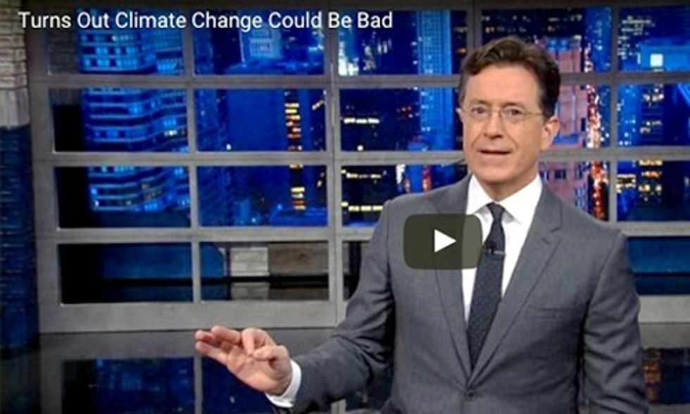 Colbert: How Your Sex Life and the Keystone XL Are Connected