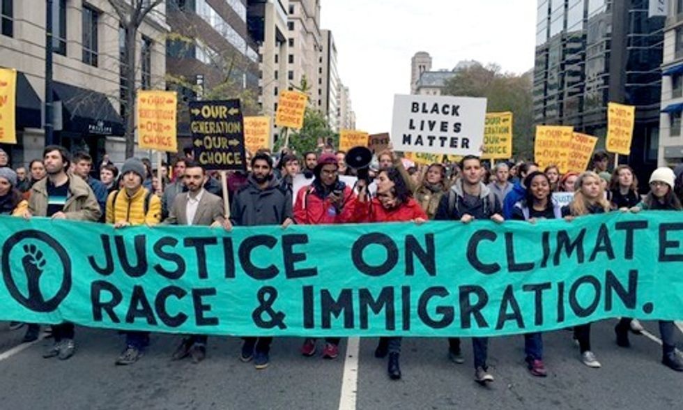 1,000 Youth Take to the Streets Demanding Climate Justice