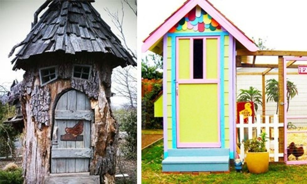 21 of the Most Outrageously Cool Chicken Coops (Which Is Your Favorite?)