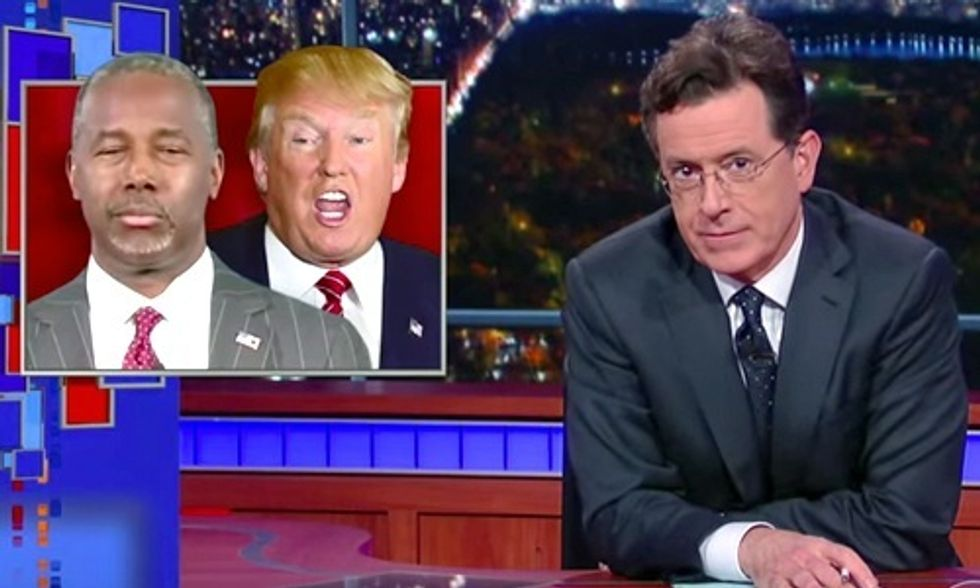 Colbert's Guide to Watching Tonight's GOP Debate