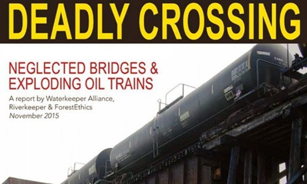 25 Million Americans at Risk From Oil Train Traffic in Their Communities