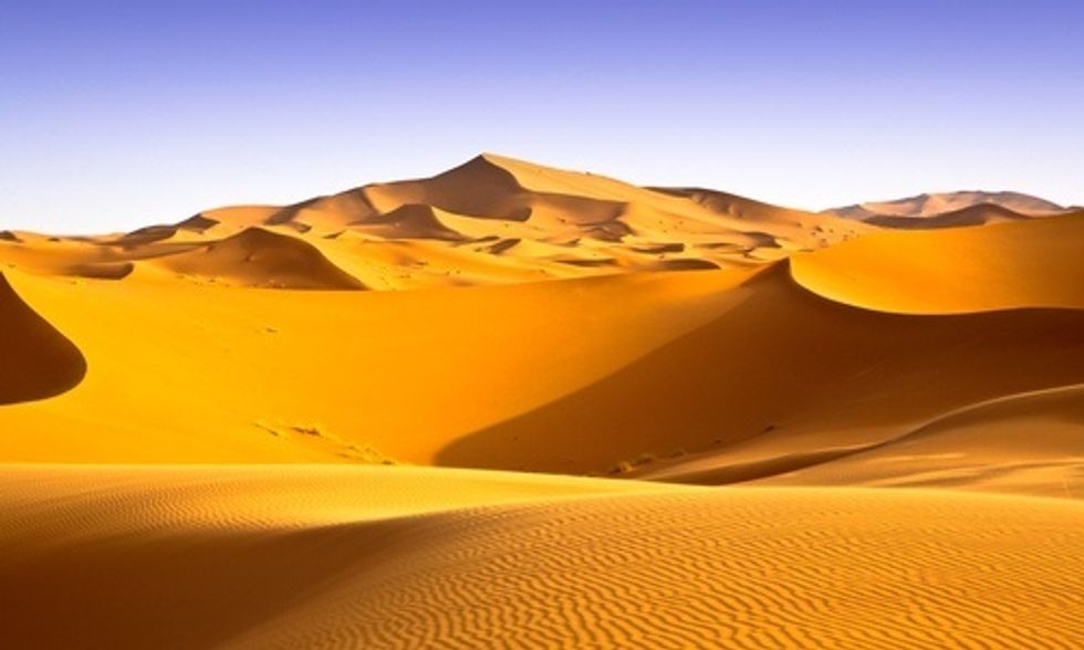 Ancient River System Flowed Under Sahara Desert (It Would Rank 12th largest Drainage Basin on Earth Today)