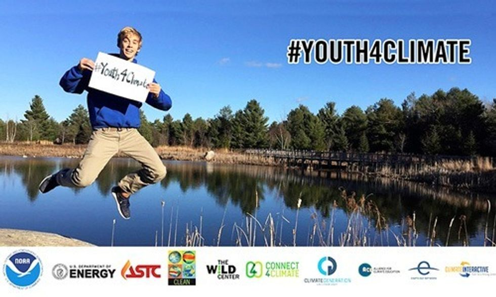#Youth4Climate: Inspiring Young People Around the World to Take Climate Action